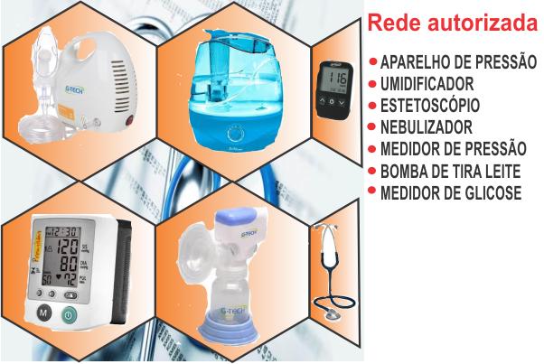 Conserto aparelho hospitalar: Nebulizador